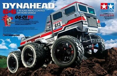 AU284.75 • Buy Tamiya 58660 1/18 Scale RC 6WD Off Road Truck G6-01TR Chassis Dynahead 6x6 Kit
