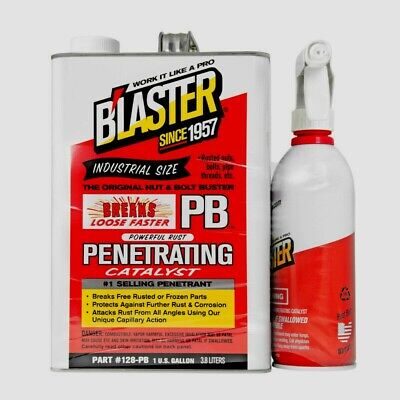 PB Blaster Penetrating Catalyst 128-PB-2 Penetrates Protects Industrial 1 Gallon • 39.49£