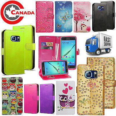 $ CDN6.75 • Buy For Samsung Galaxy S7 Edge Case - Luxury PU Leather Wallet Card Slots Flip Cover