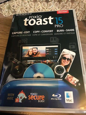 £4.96 • Buy Roxio Toast 15 Pro Software CD BOX ONLY