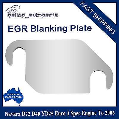 AU29 • Buy For Navara D40 D22 EGR Blanking Plate YD25 EURO 3 Spec 73mm Hole C/C *EXPRESS*