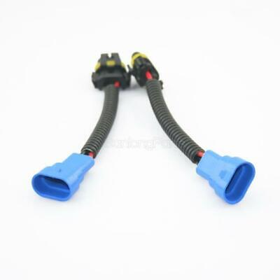 9145 h10 9005 hb3 extension connector wiring harness sockets wire for  headlights • 5 14$