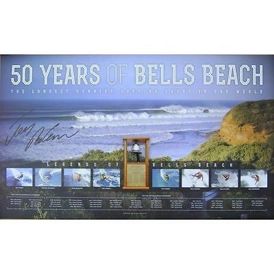 AU99 • Buy Joel Parkinson Hand Signed Bells Beach 50 Years Limited Edition Surfing Print
