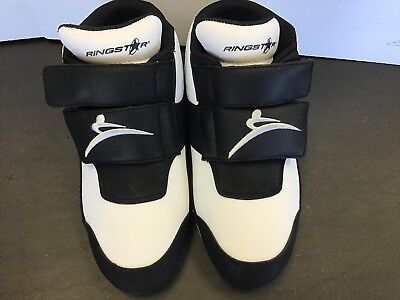 $39.99 • Buy RINGSTAR FIGHT PRO Sparring Shoes, Men's Size 5, Karate, Tae Kwon Do
