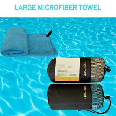 AU17.50 • Buy Deluxe Microfiber Travel Towel Sport Beach Towels Ultra Absorbent & Quick Dry