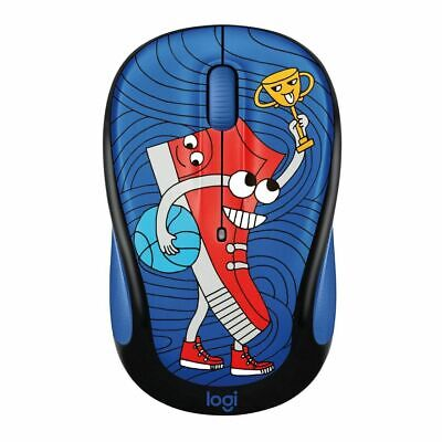 AU25 • Buy Logitech M238 Wireless Mouse Doodle Collection- SneakerHead (Free Postage)