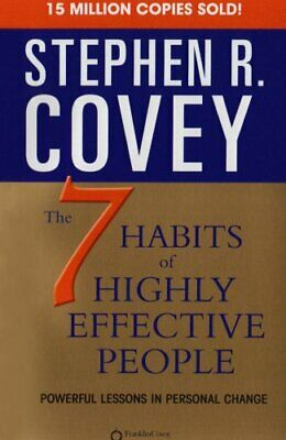 AU12.12 • Buy 7 Habits Of Highly Effective People,Stephen R. Covey