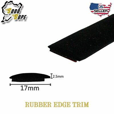Car Front Rear Windshield Sunroof Rubber Sealing Strip Trim 12'Length Auto Parts • 15.99$