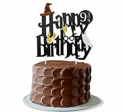 AU8.20 • Buy Harry Potter Cake Topper Harry Potter Birthday Party Cake Decoration AU Stock