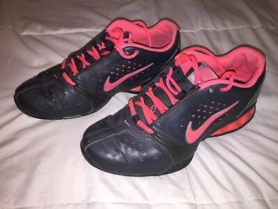 Women s Nike Reax Rockstar Training Athletic Shoes Size 8.5 Dark Charcoal  Pink • 28.00  3bc9d720f