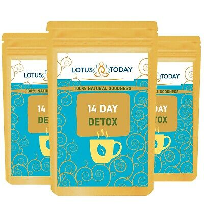 Fast* Herbal Teatox 14 Day DETOX WEIGHT LOSS, DIET, SLIMMING, Laxative Tea Bags  • 7.69£