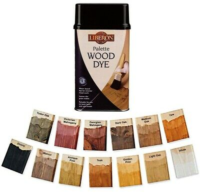 £10.49 • Buy Liberon Interior Floor And Woodwork Palette Wood Dye - All Colours And Sizes
