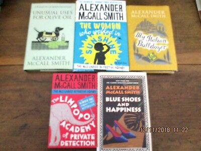AU24.95 • Buy ~ALEXANDER McCALL SMITH X 5 BOOKS-THE WOMAN WHO WALKED IN SUNSHINE + 4 - ALL GC~