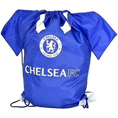 £7.99 • Buy Chelsea FC Shirt Shaped Gym Bag With Drawstring Officially Licensed