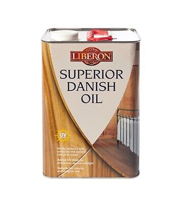Liberon Superior Danish Oil - Enhances And Protects Wood  - All Sizes • 18.48£