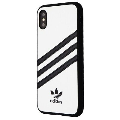 AU26.17 • Buy Adidas 3-Stripes Snap Hard Case For Apple IPhone XS And X - White / Black
