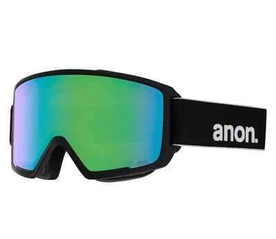 AU279.99 • Buy Anon M3 MFI Goggle + Face Mask 2019 In Black Sonar Green + Sonar Infrared