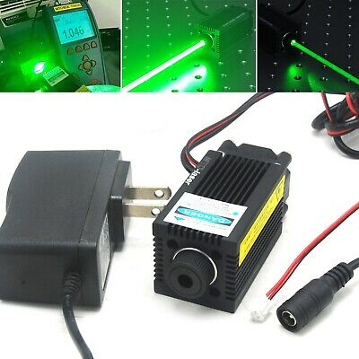 AU216.87 • Buy 520nm 1W Focusable Dot Laser Module TTL Driver 1000mW Green Diode 12V Adapter