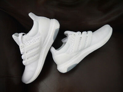 ff4d3d824 Deadstock Adidas Ultra Boost 1.0 All White S77416 Size 8.5  brand New  Shoes  •