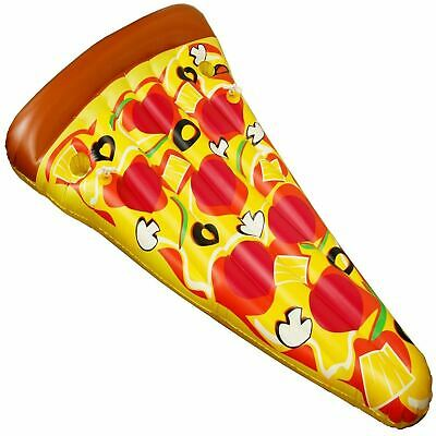 RexcoGiant Inflatable Pizza Slice Beach Float Lounger Swimming Pool Toy Lilo • 10.99£