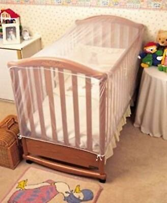£20.66 • Buy  Cot Bed Insect Net Strong And Open Weave Mesh Helps To Prevent Cats Brand New