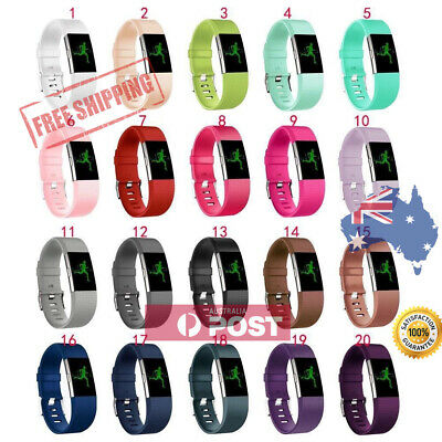 AU6.80 • Buy New Replacement Silicone Wrist Band For Fitbit Charge 2 / Charge HR 2 AU Seller