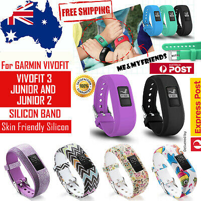 AU6.94 • Buy Replacement Band For GARMIN VIVOFIT 3 JR JR 2 JUNIOR Fitness Sports Wristband