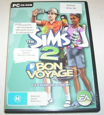 £2.52 • Buy The Sims 2 Bon Voyage Expansion Pack CD Set For PC