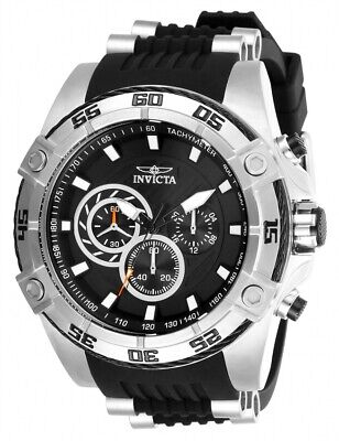 View Details Invicta Men's Speedway 28227 Black Silicone, Stainless Steel Chronograph  Watch • 89.99$