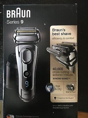 View Details Braun Series 9 9297cc Men's Electric Wet&Dry Razor With Clean&Charge System • 100.00£