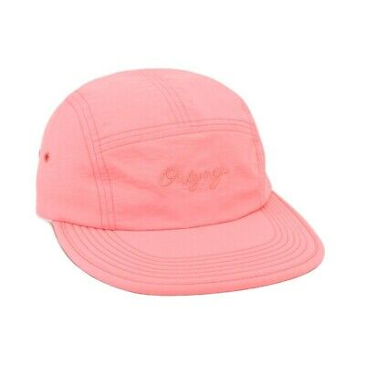 ca32b2c0e8a Only NY Logo Nylon Packable 5-panel Pink Polo Hat Supreme Camp Cap Strap  Back