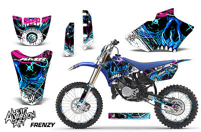 AU401.31 • Buy Decal Graphics Kit MX Sticker Wrap + # Plates For Yamaha YZ85 2002-2014 FRENZY U