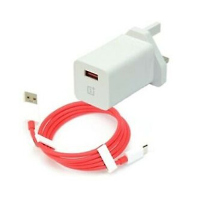 AU8.68 • Buy Genuine OnePlus WARP UK/EU 6T 6 5T 5 USB Type-C Fast Charger Adapter & Or Cable