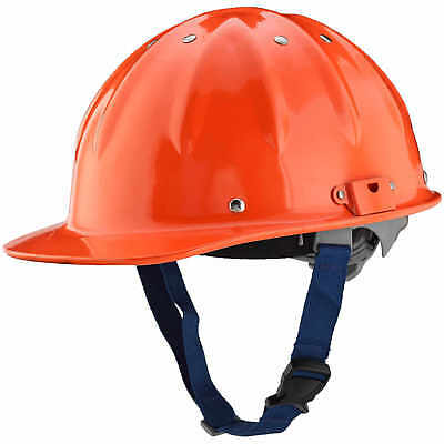 New Forester Cap Aluminum Hard Hat Orange Includes 4pt Head Adjustment System • 49.99$