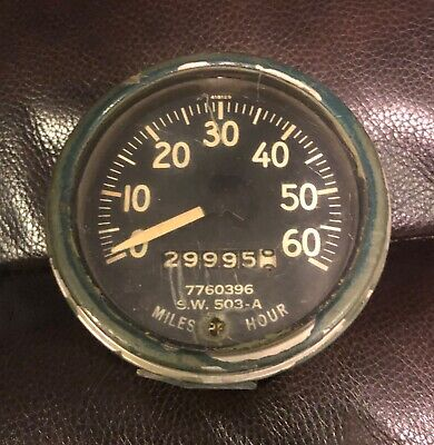 $175 • Buy Used Willys Jeep M38 M38A1 M170 M151 Correct M-series Military Speedometer