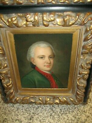 $ CDN2014.16 • Buy  Oil On Canvas Painting Of A Man, Signed Esther