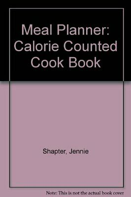 £2.05 • Buy Meal Planner: Calorie Counted Cook Book,Jennie Shapter