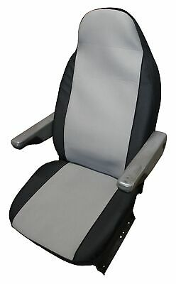 Fiat Ducato Luxury Motorhome Seat Covers - New Carbon Grey Design • 39.99£