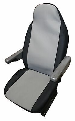 Peugeot Boxer Luxury Motorhome Seat Covers - New Carbon Grey Design • 39.99£