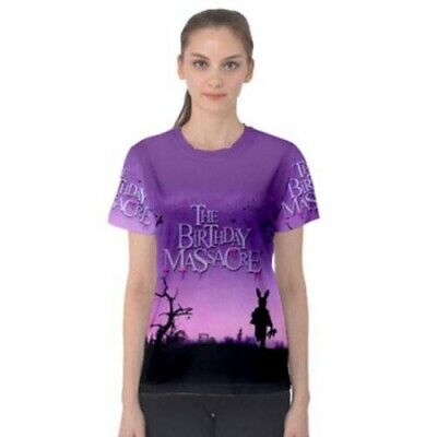 The Birthday Massacre T Shirt Full Print New Womens Tshirt Tee Size S To 2XL
