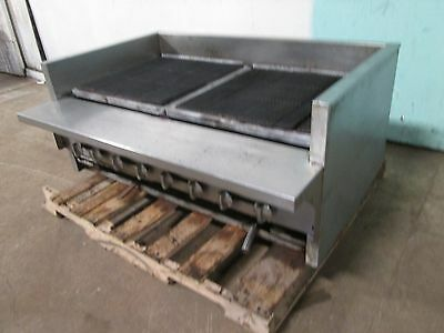 $1359.99 • Buy  Imperial  Heavy Duty Commercial Natural Gas 8 Burners 48 W Radiant Charbroiler