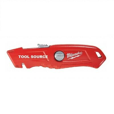 $ CDN24.99 • Buy New Sealed Milwaukee Self Retracting Automatic Safety Utility Knife 48-22-1915