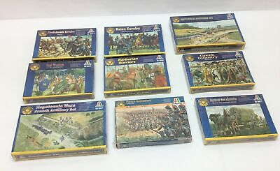 $110 • Buy Lot Of 9 New Boxes Of Italeri 1:72 Figures French Union Cavalry Greek Napoleonic