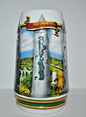 $ CDN20.06 • Buy Stein Beer BUDWEISER St Patrick's Day Tradition And Heritage 2003 3D Handcrafted