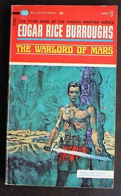 $3.19 • Buy EDGAR RICE BURROUGHS BALLANTINE U2033 THE WARLORD OF MARS JOHN CARTER VG+ 3rd