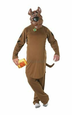 NEW Adult 70s Cartoon Scooby Doo Mens Halloween Party Fancy Dress Costume Outfit • 27.98£