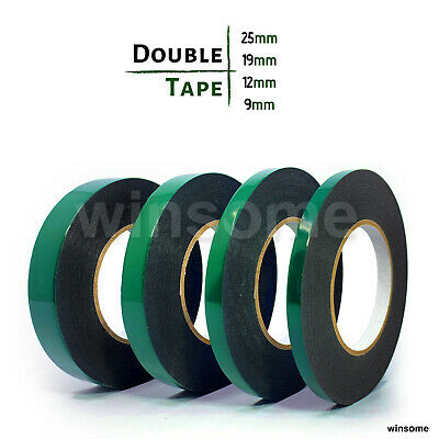 £2.99 • Buy 10 M Double Side Foam Sponge Tape Extra Strong Adhesive Roll Sticky Multipurpose
