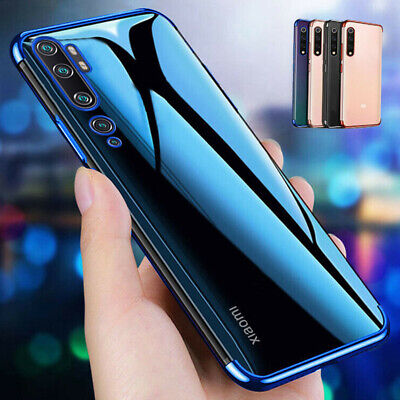 $1.96 • Buy Plating Silicone Clear Soft Case Cover For Xiaomi Mi 9T Pro 9 8 Se F1 A2 A3 Lite