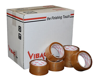 £48.20 • Buy Vibac Clear Solvent Polypropylene Adhesive Tape 48mm X 66m Qty 36