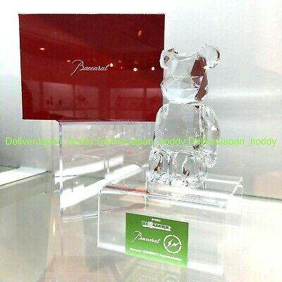 $3599.99 • Buy BE@RBRICK Baccarat × Fragment Design Crystal Glass Rare Medicom Bearbrick
